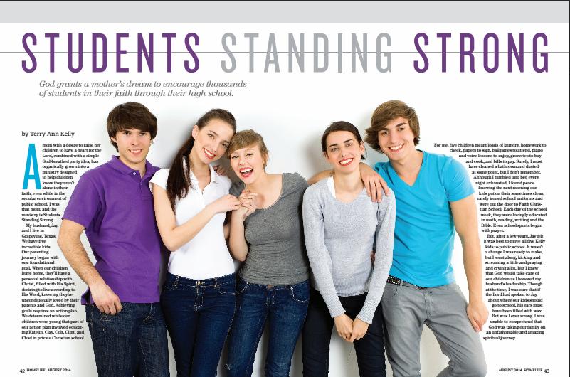 studentsstandingstrong