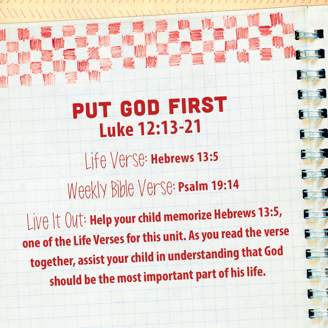 week of july 24 u2014put god first u2014social media plan