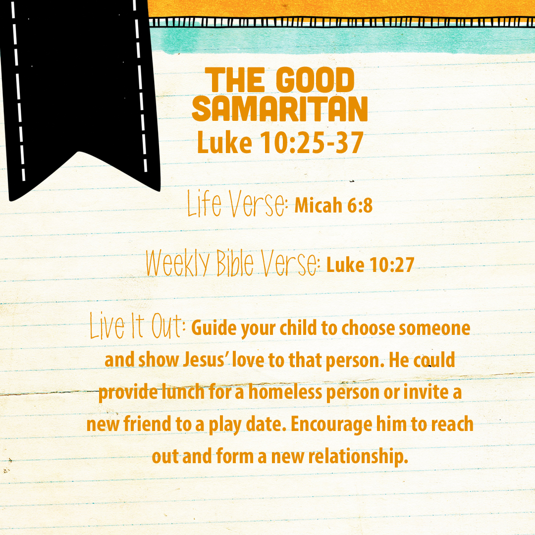 week of august 28 u2014the good samaritan u2014social media plan