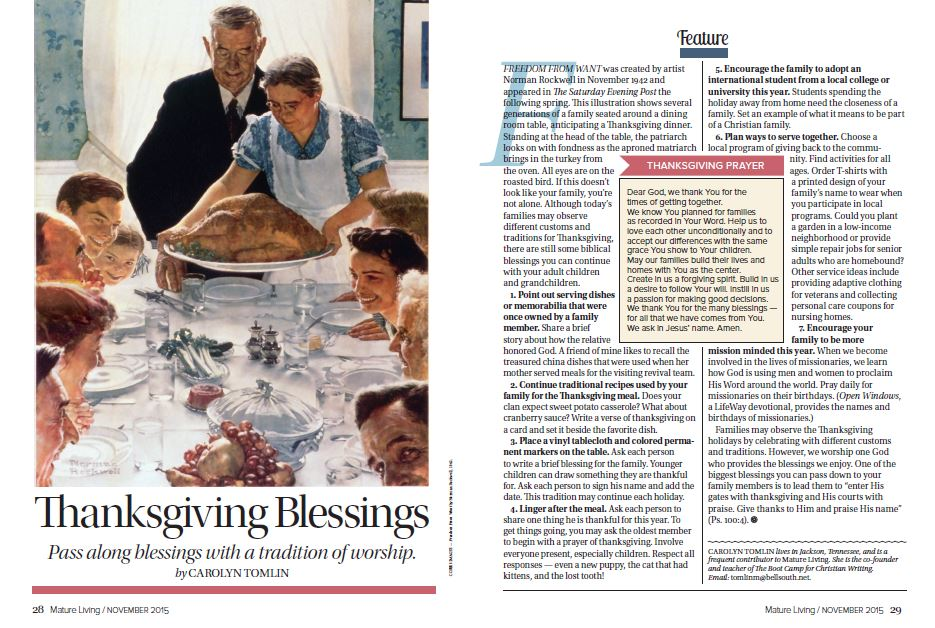 Give Thanks Anyway – Thanksgiving Blessings