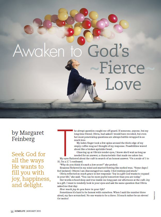 Thrive – Session 1 – Awaken to God's Fierce Love